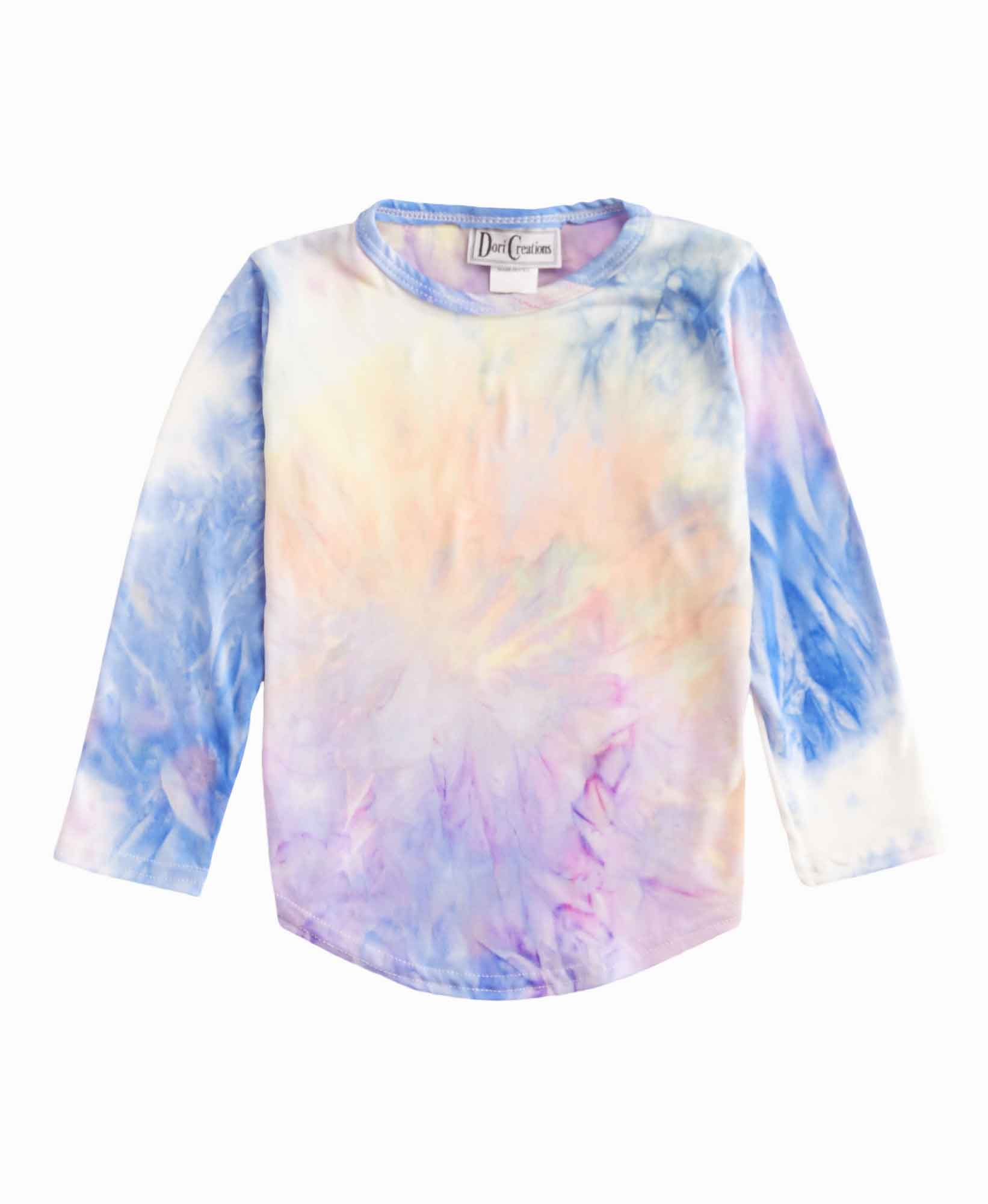 Dori Creations Tie Dye Long Sleeve Tee