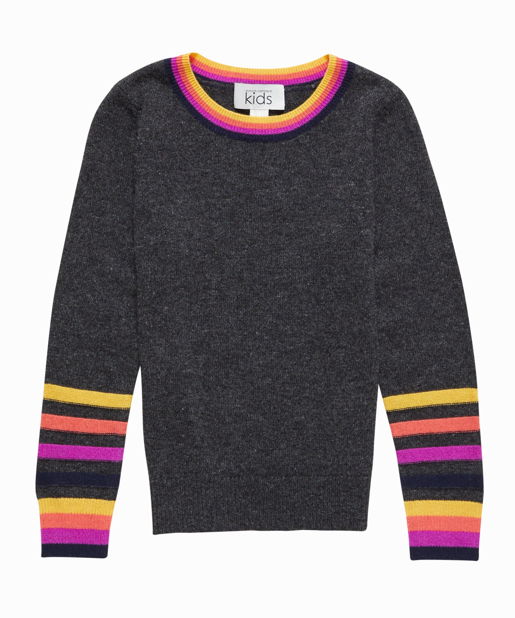 Stripe Trim Sweater