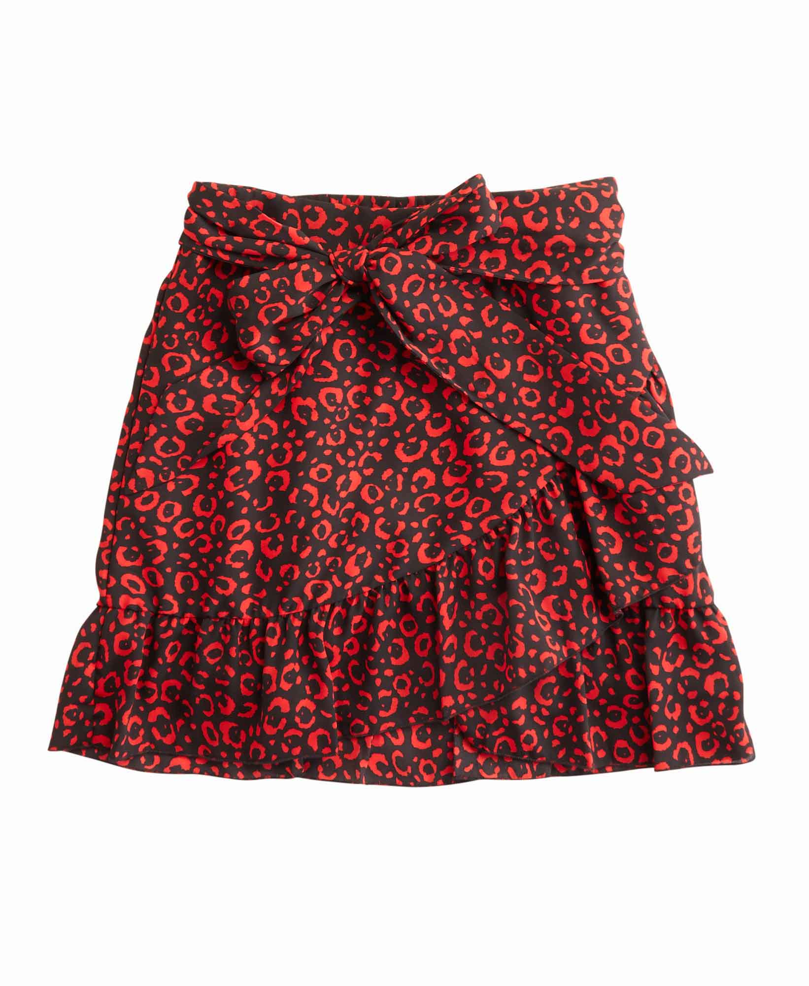 Piccola Ludo Horus Wrap Skirt with Ruffles