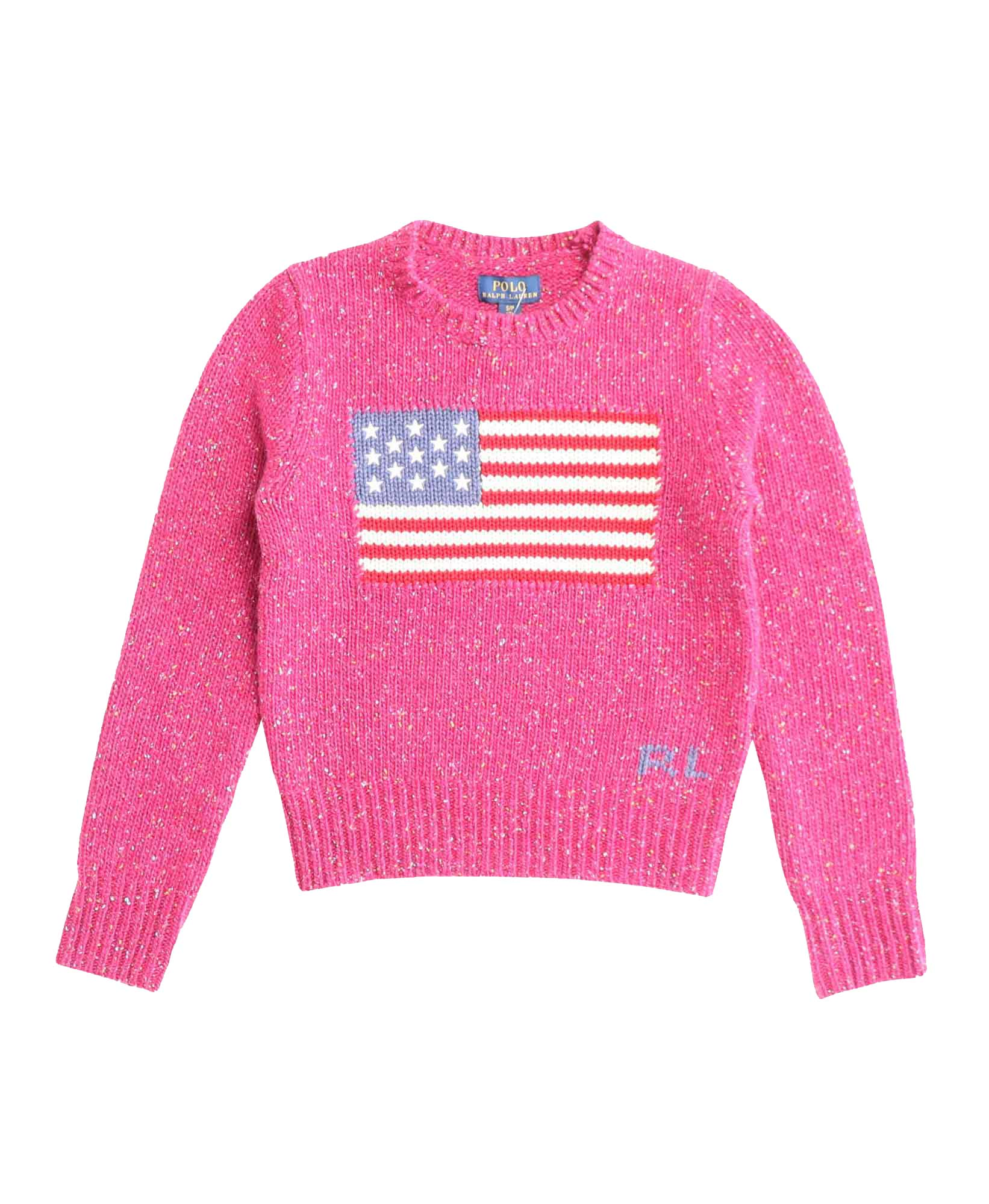 Preppy Flag Sweater