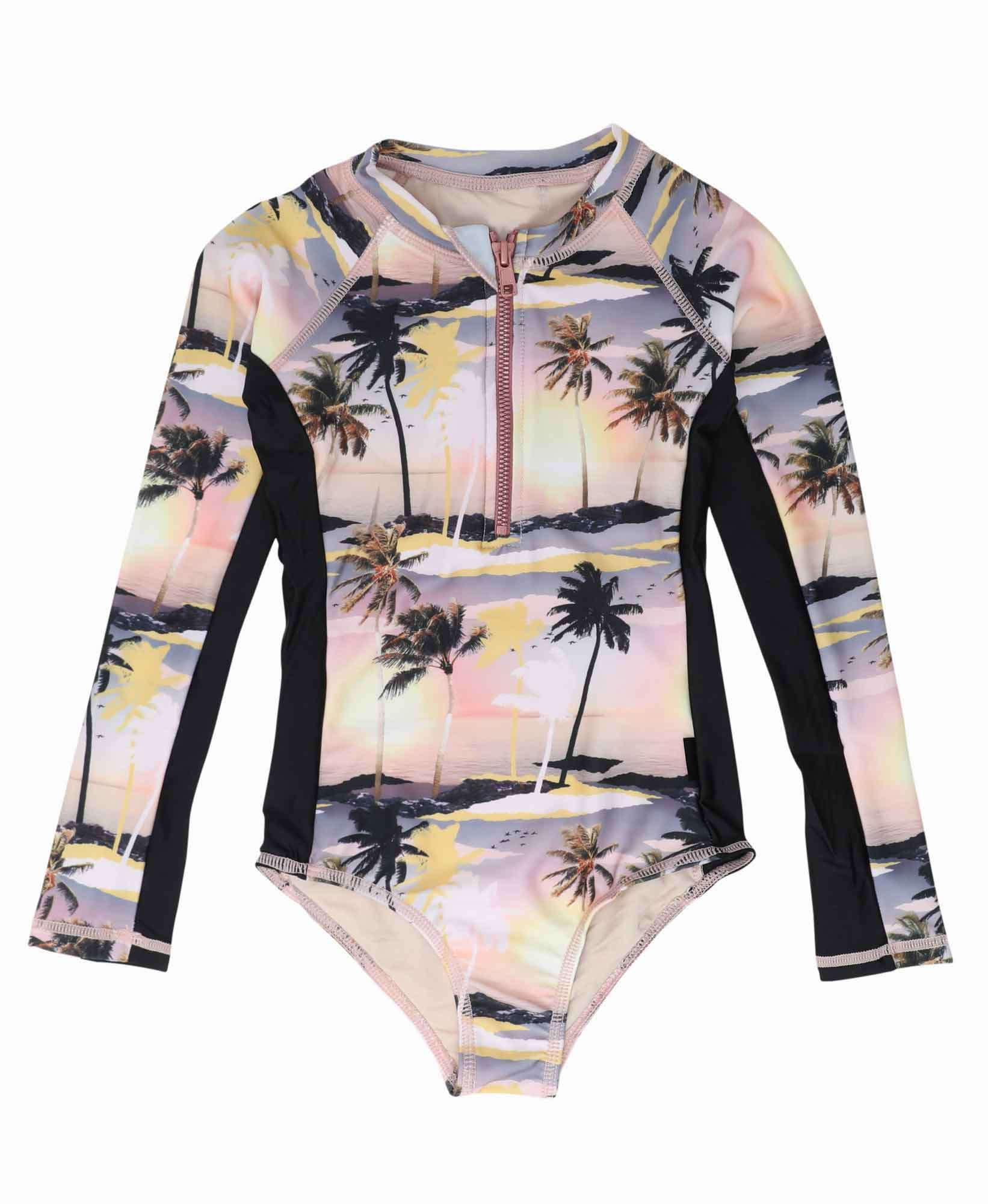 Molo Necky Long Sleeve Swimsuit