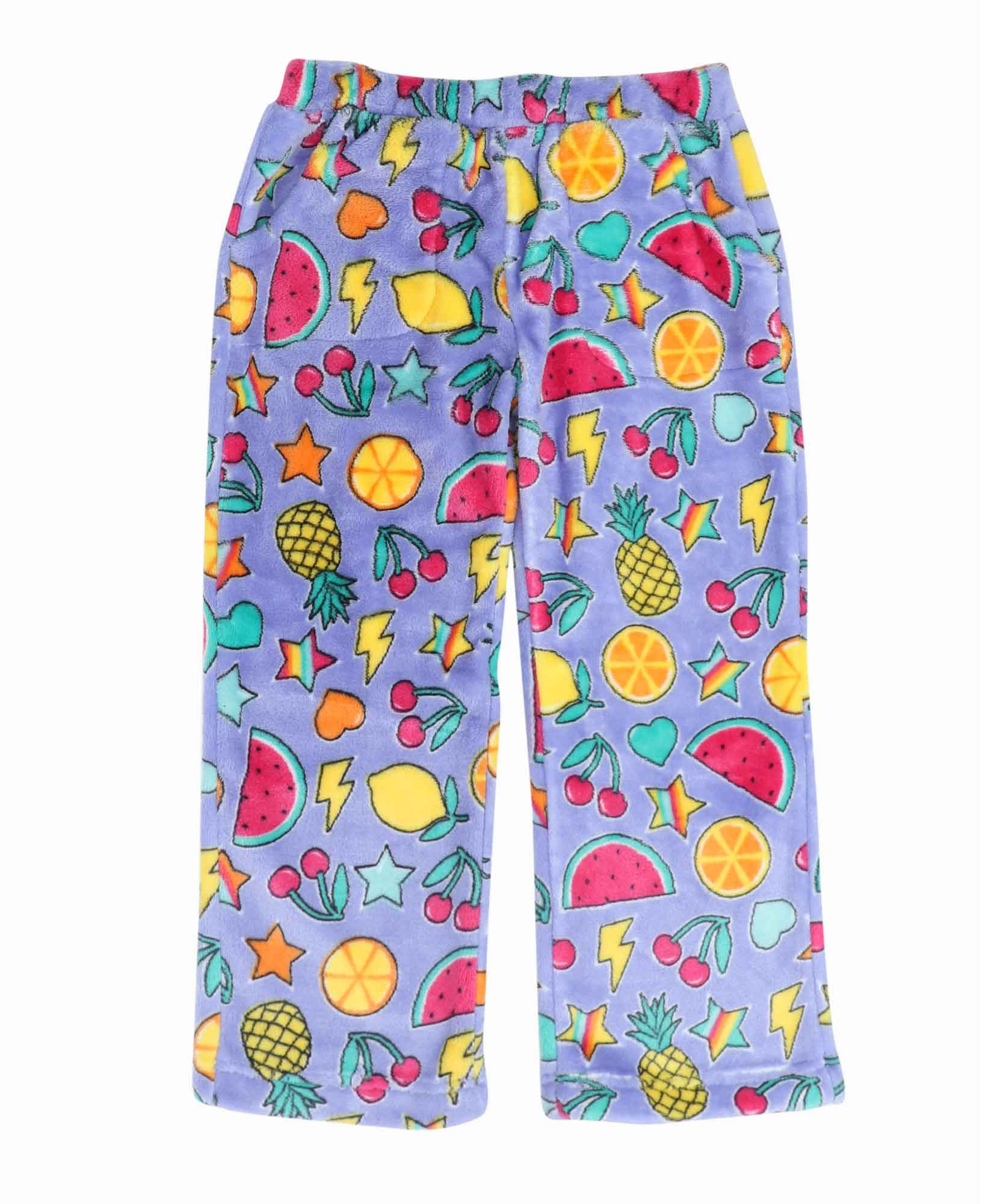 Candy Pink Citrus Pajama Pants