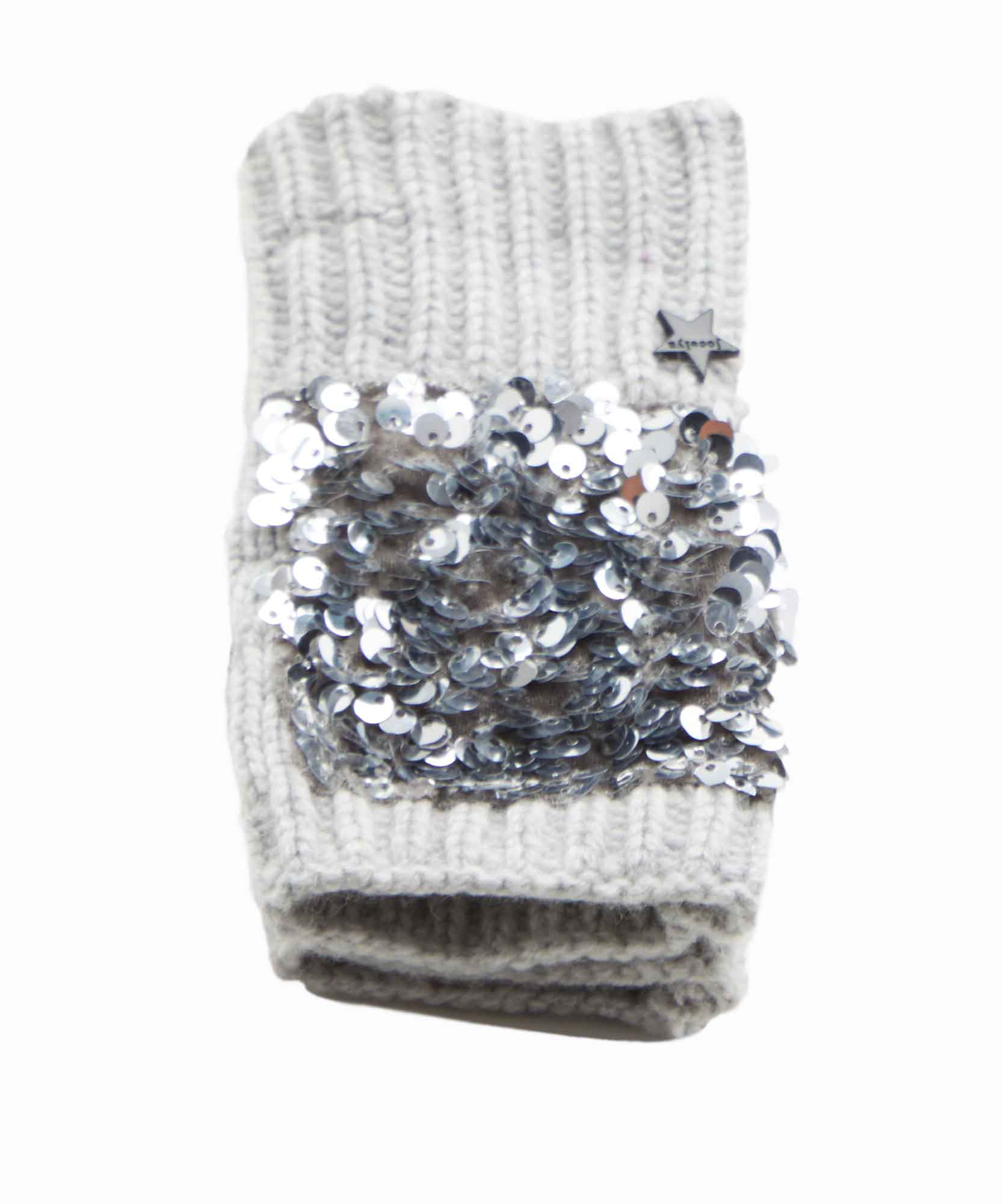Jocelyn Sequin Fingerless Mittens