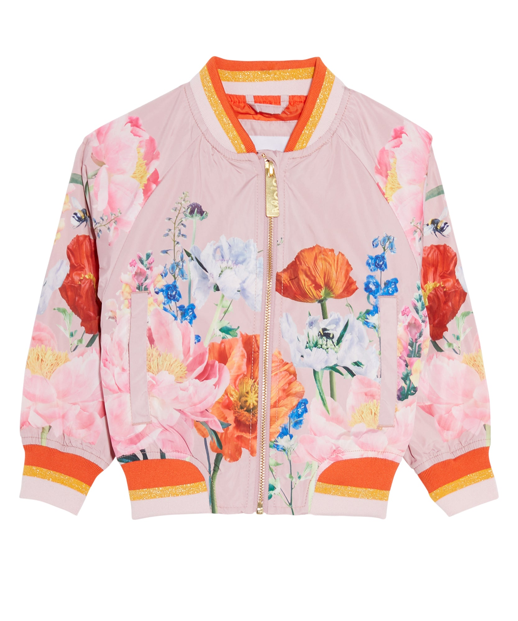 Happy Floral Bomber