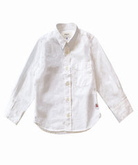 Ganix White Button Down Shirt