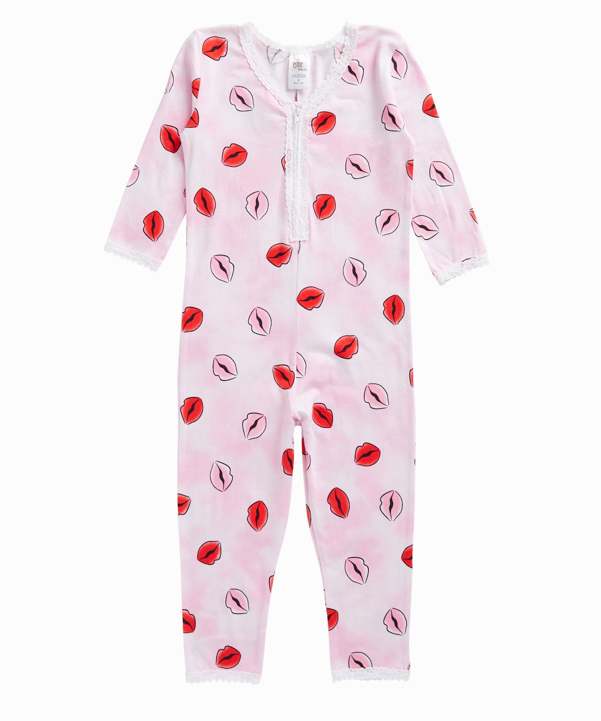 Lips Sleep Romper