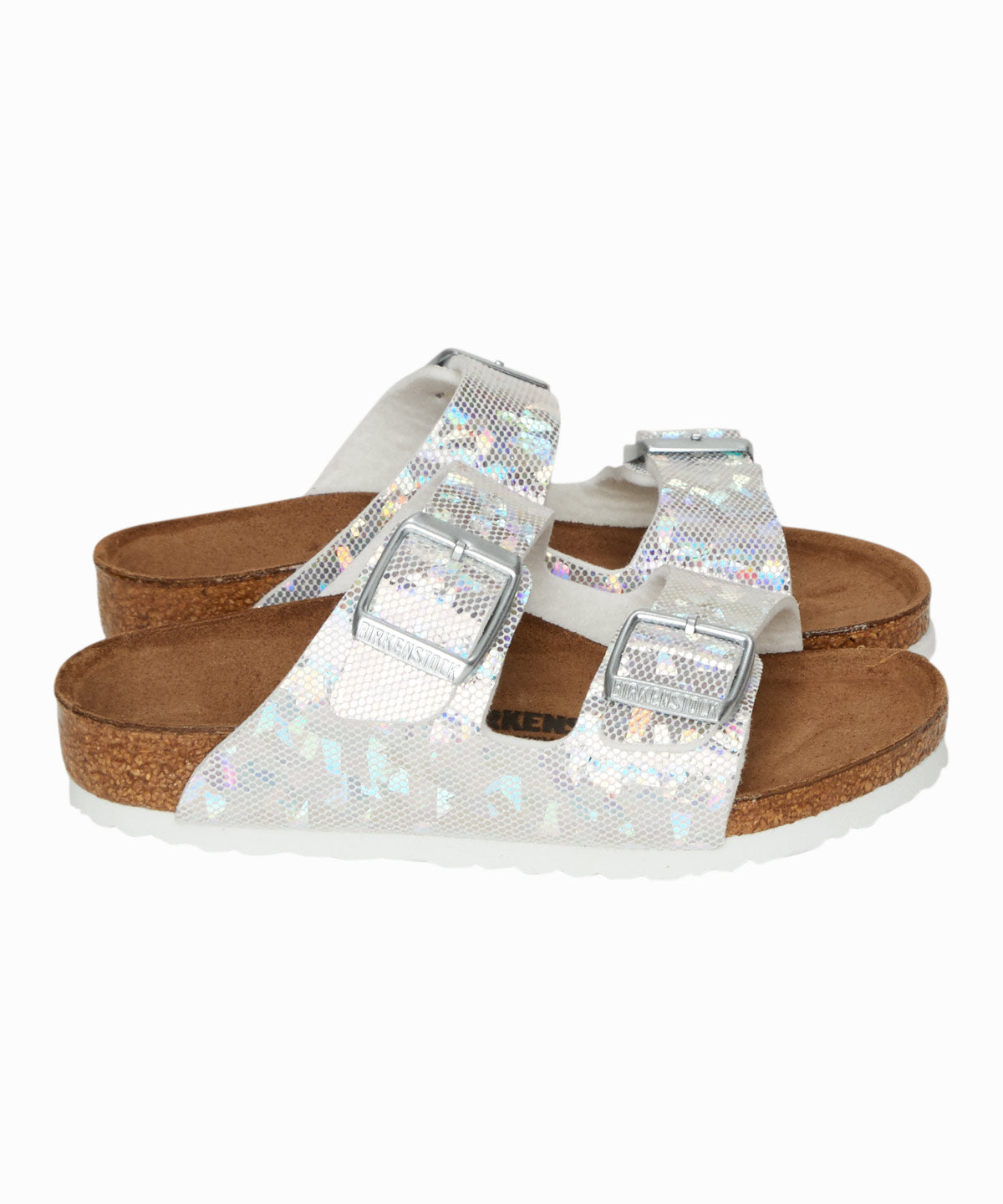 Arizona Silver Hologram Sandals