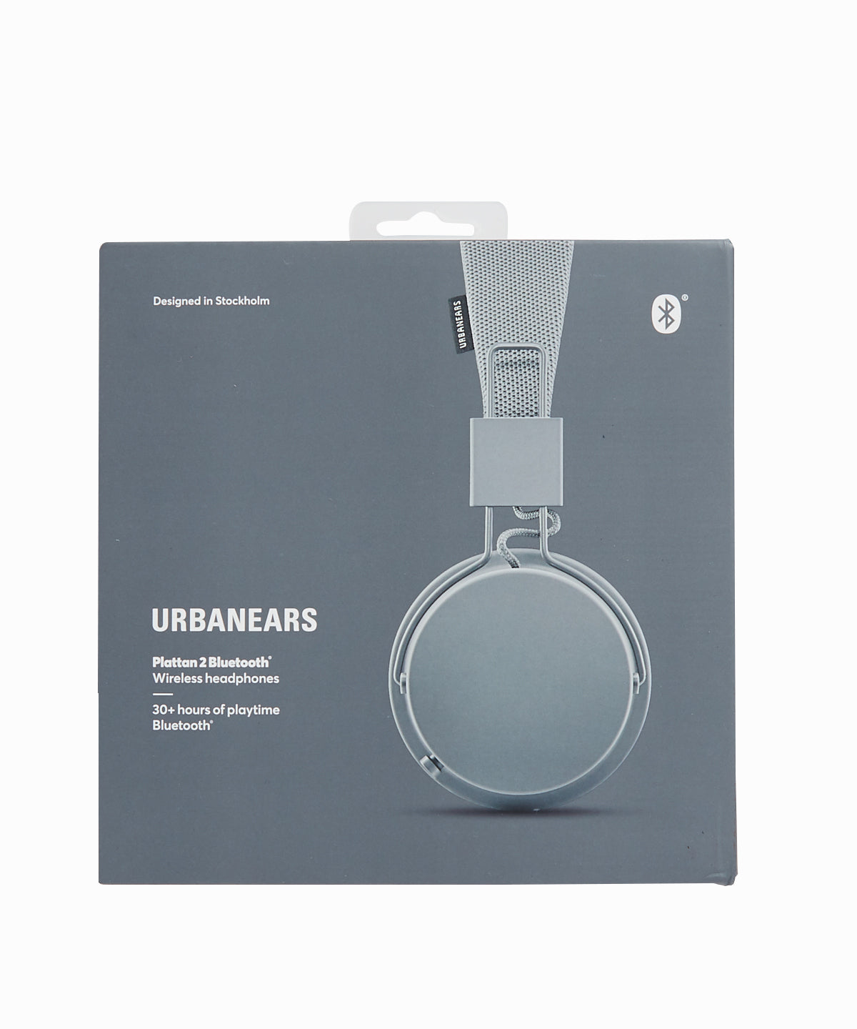 Plattan 2 Bluetooth Wireless Grey Headphones