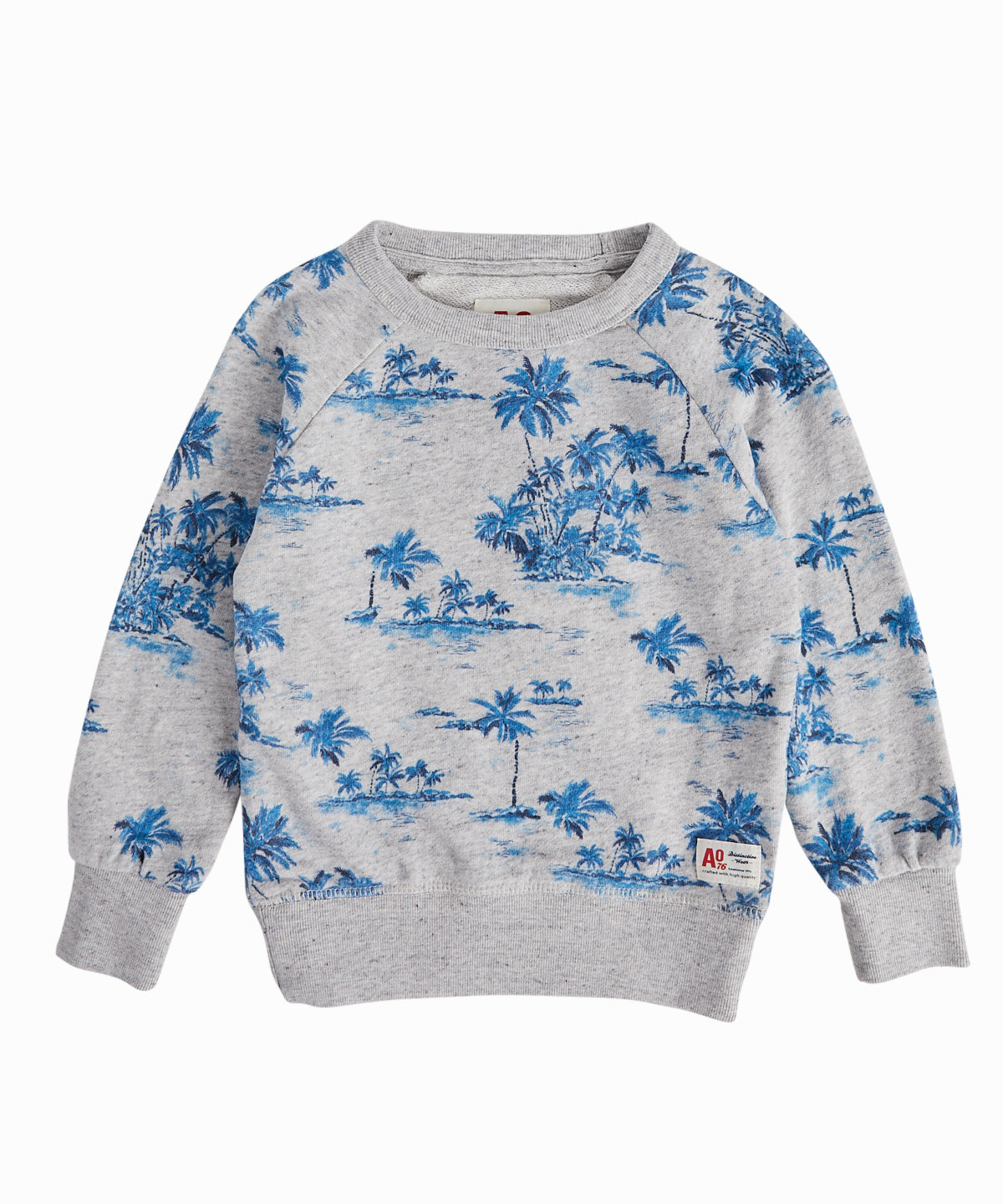 Leaves Print Sweatshirt