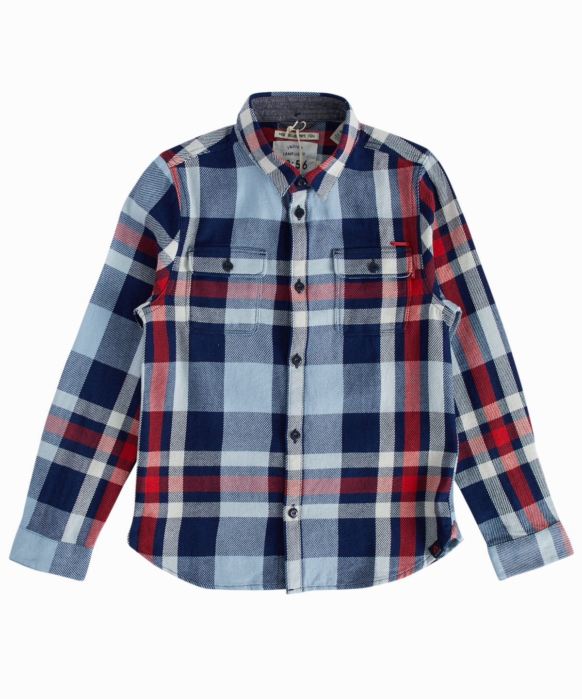 Easy Check Slim-Fit Button-Down Shirt