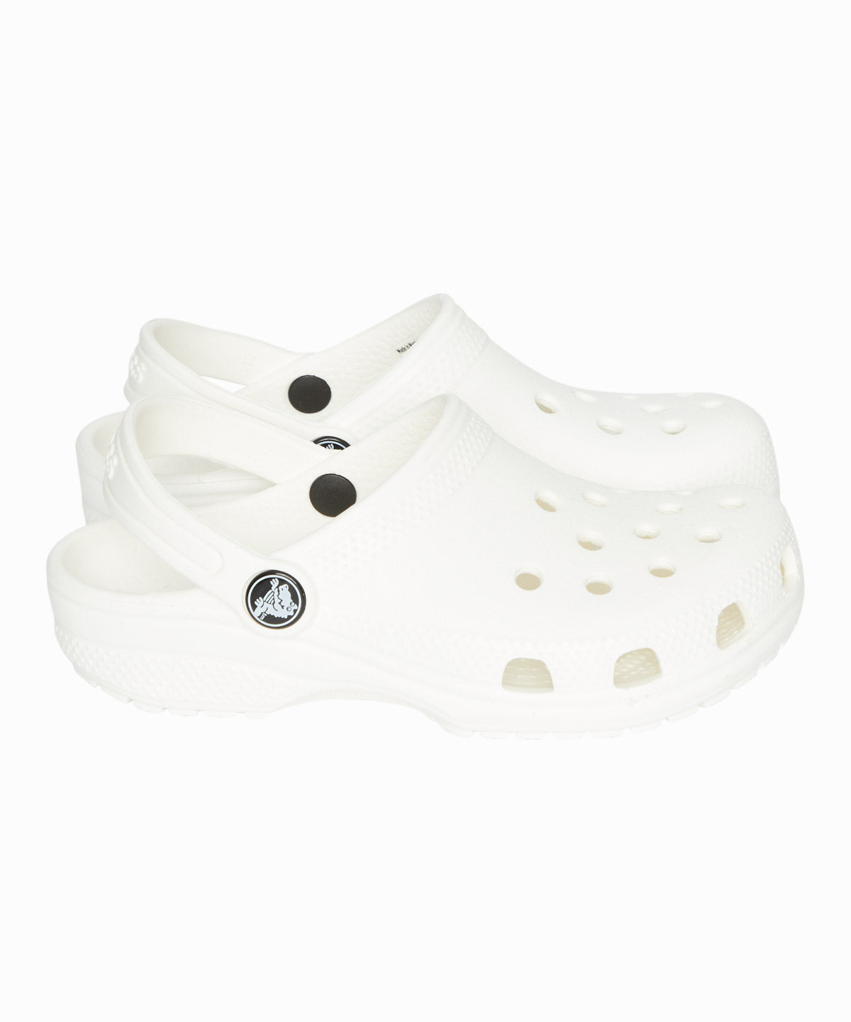 White Clog Crocs