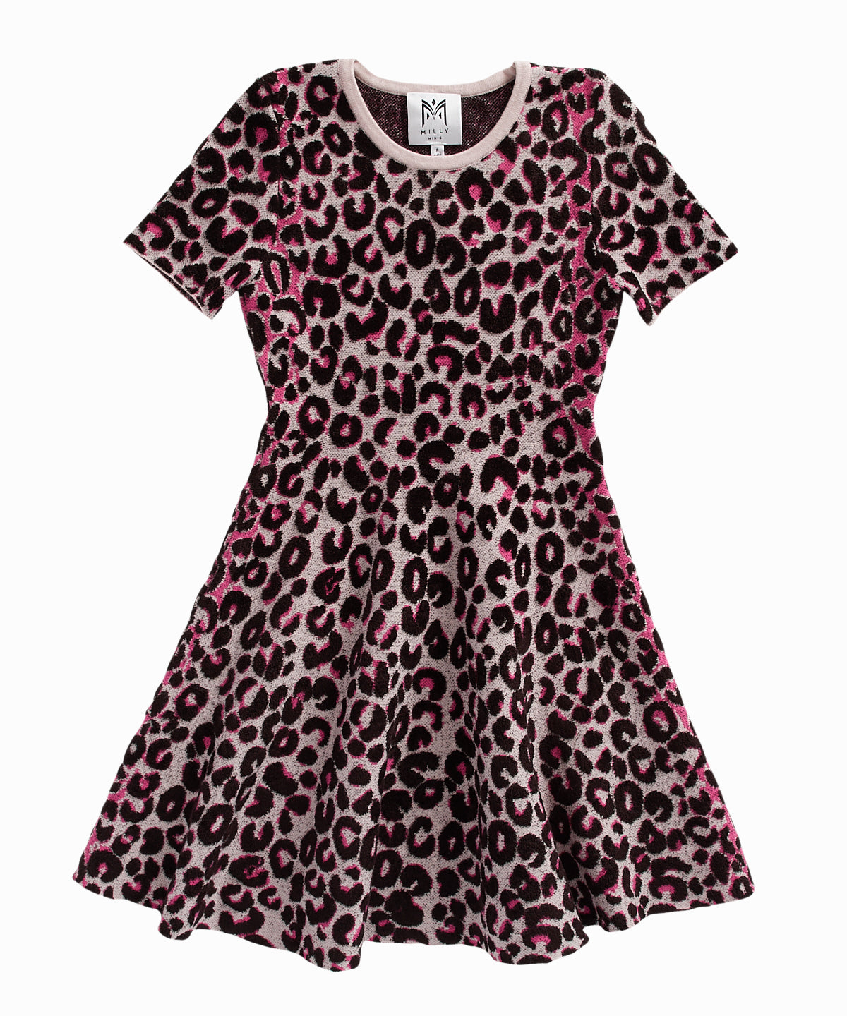 Cheetah Print Flare Dress