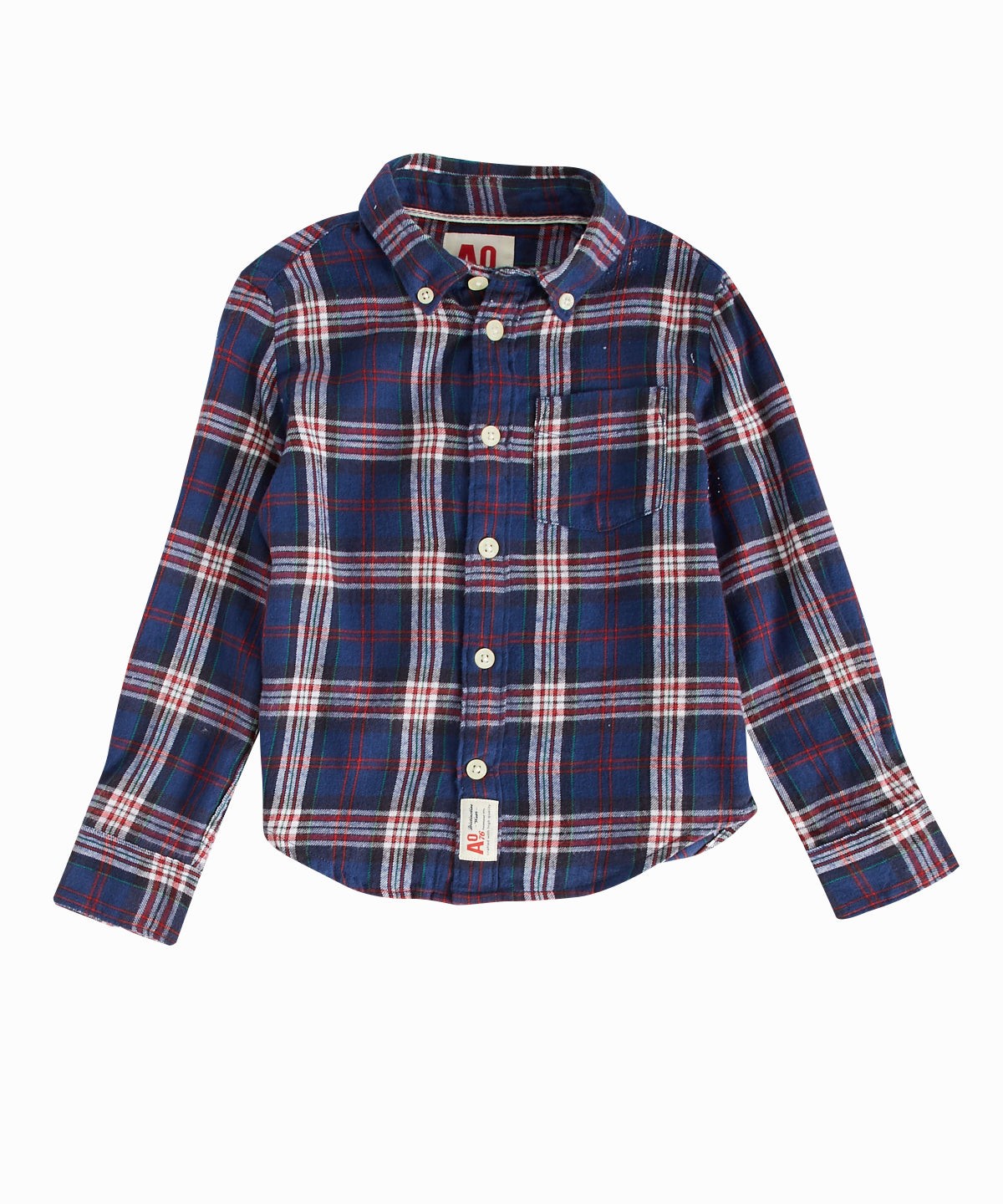 Fargo Blue Plaid Buttondown Shirt
