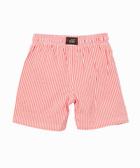 Candy Cane Stripe Swim Shorts