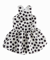 Polka Dot Bubble Dress