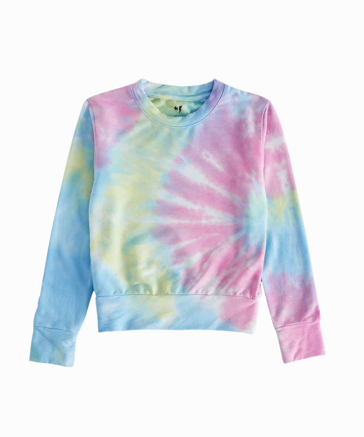 Multi-Color Tie Dye Crewneck Sweatshirt