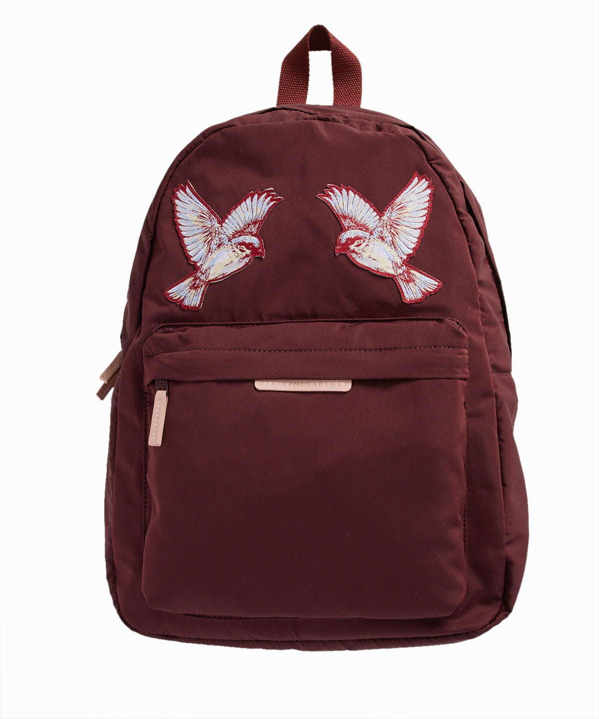Hummingbird Patch Bordeaux Backpack