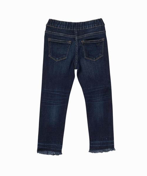 Candy Raw Edge Pull On Jeans
