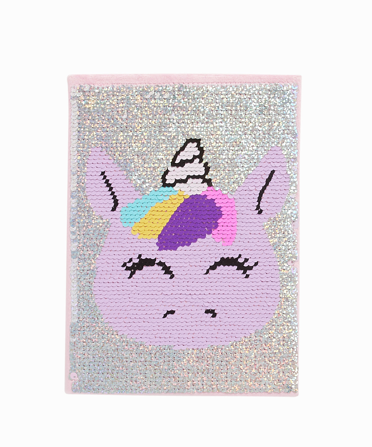 Unicorn Reversible Sequin Notebook