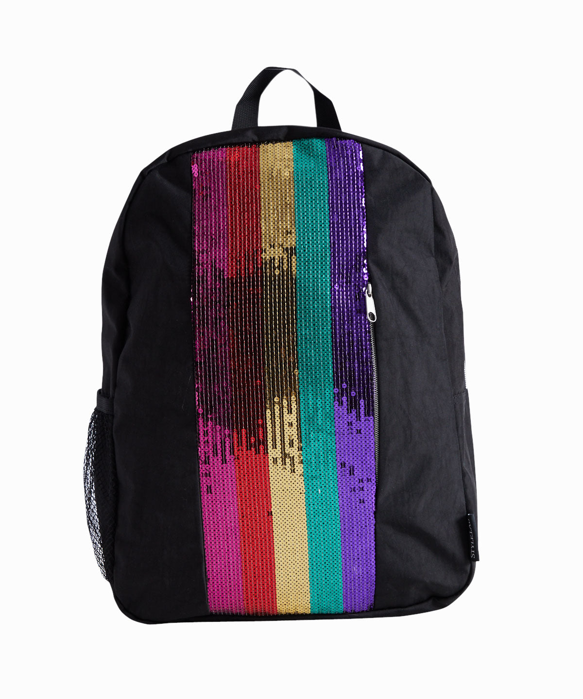 Rainbow Sequin Stripe Backpack