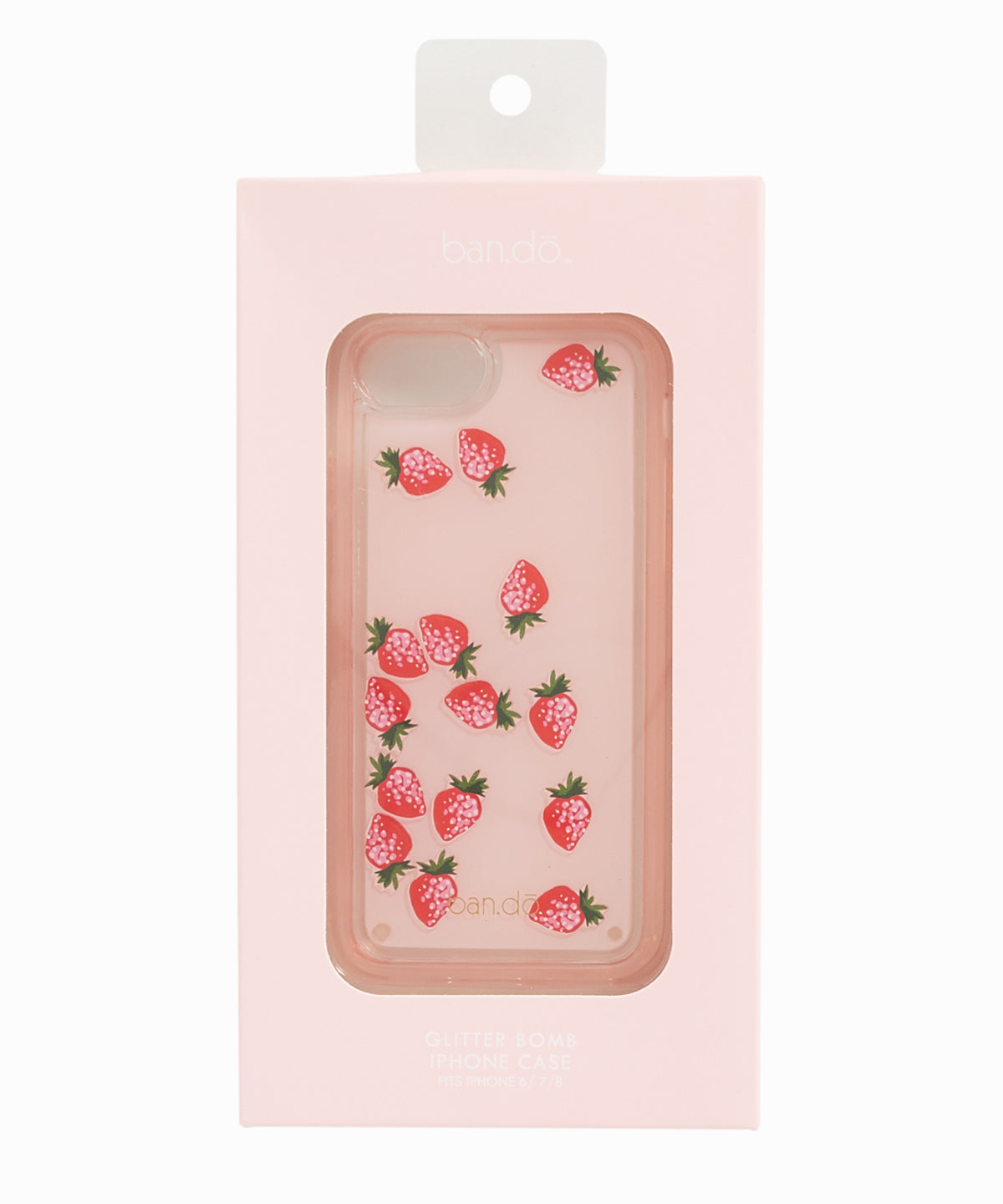 Floating Strawberries iPhone Case