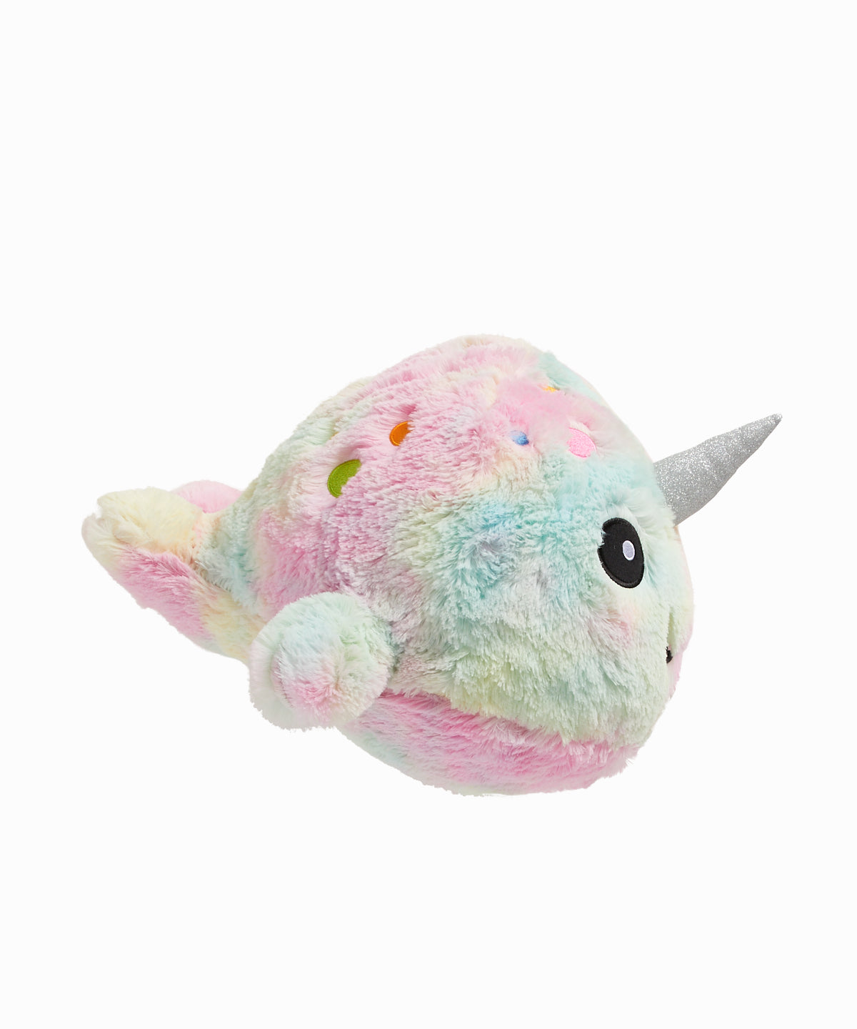 Tie Dye Narwhal Scented Furry Pillow