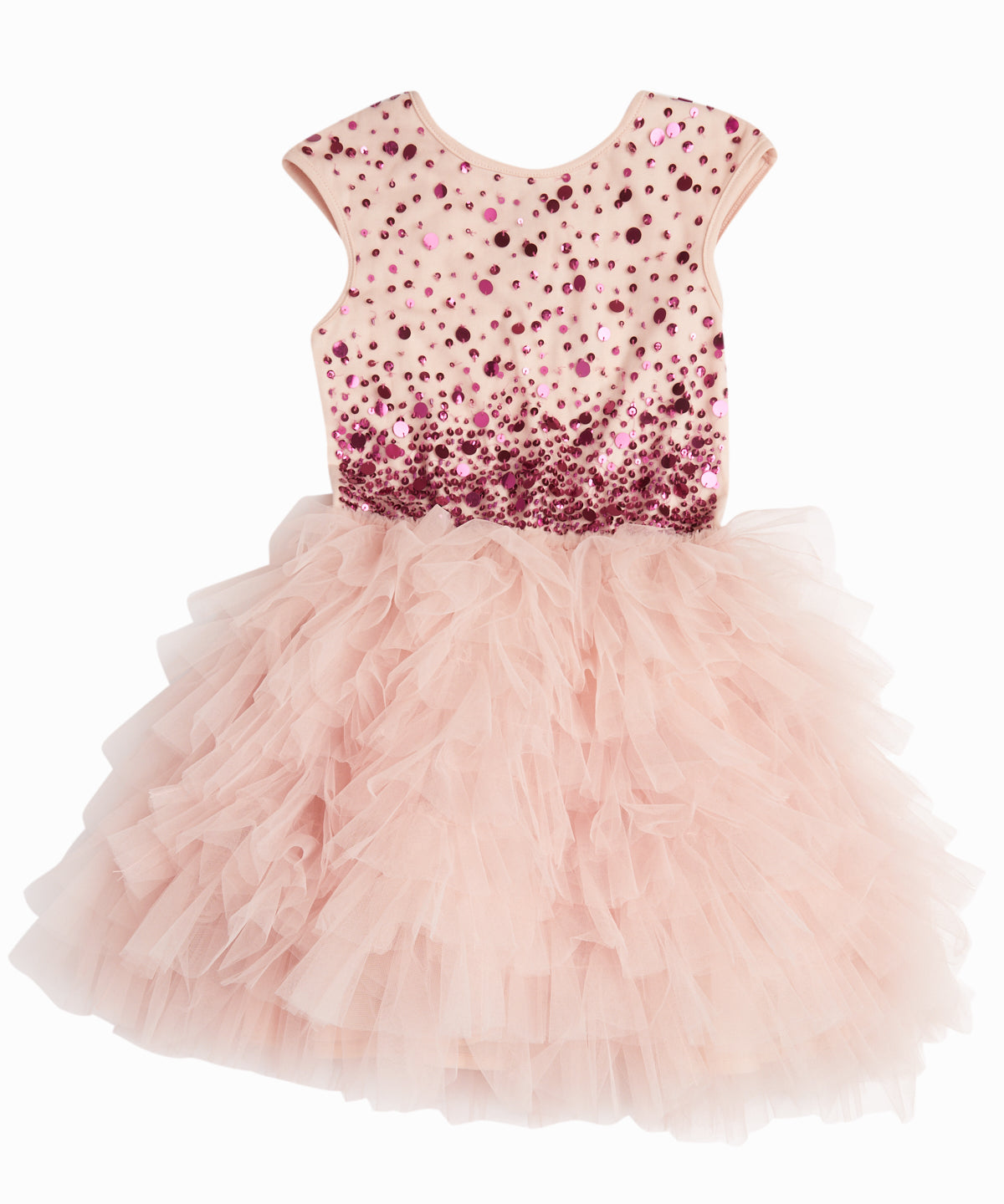 Light Pink Confetti Tutu Dress