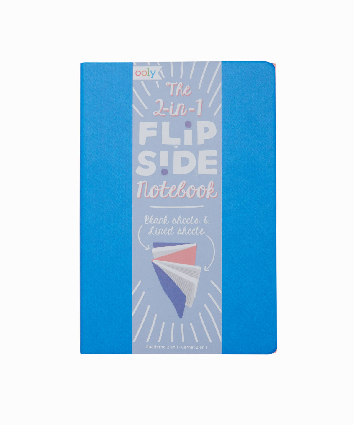 2 In 1 Flipside Blue Notebook