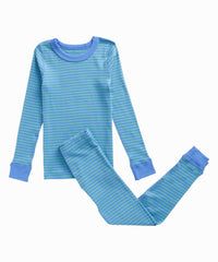 Blue Striped Pajamas