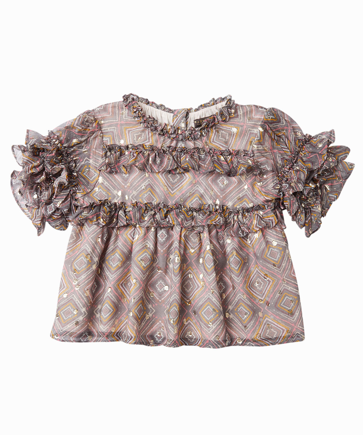 Hillary Frill Blouse