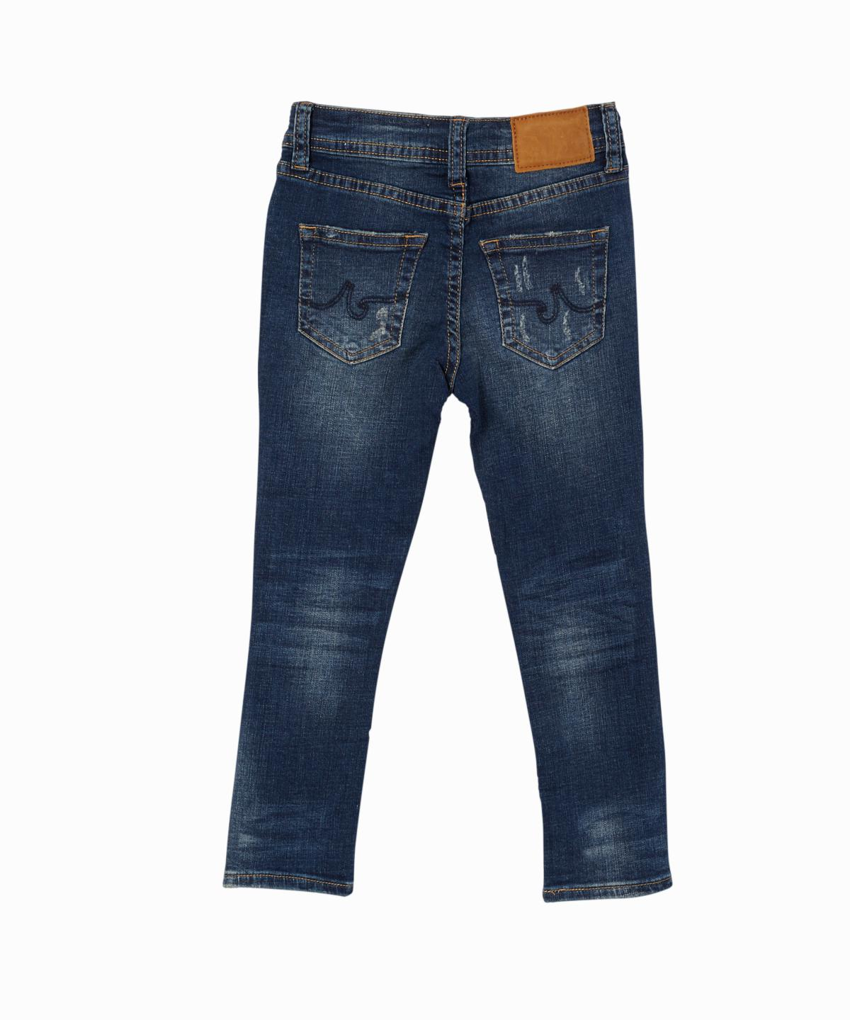 Kingston Distressed Slim-Skinny Jeans