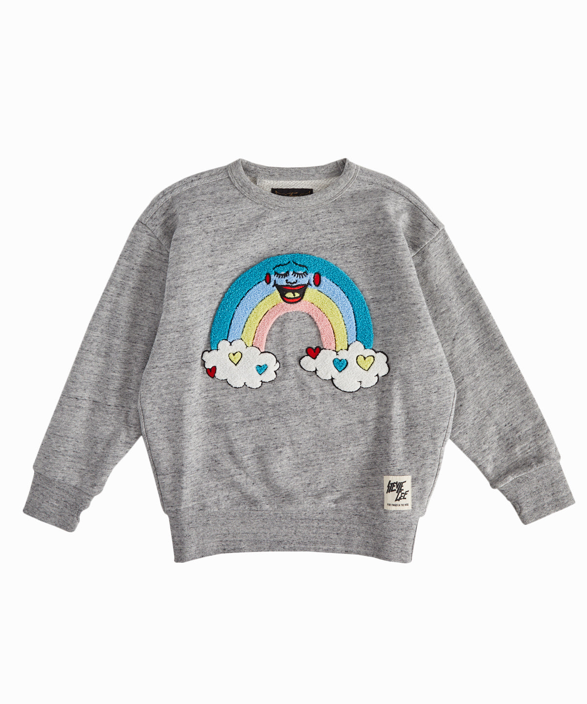 Rainbow Applique Sweatshirt