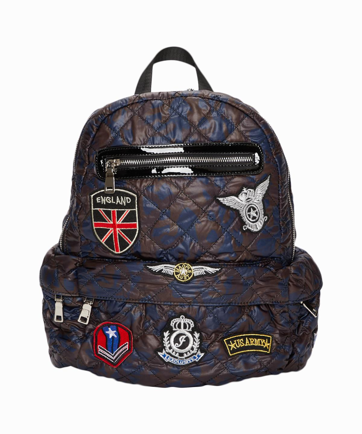 Camo Patches Backpack