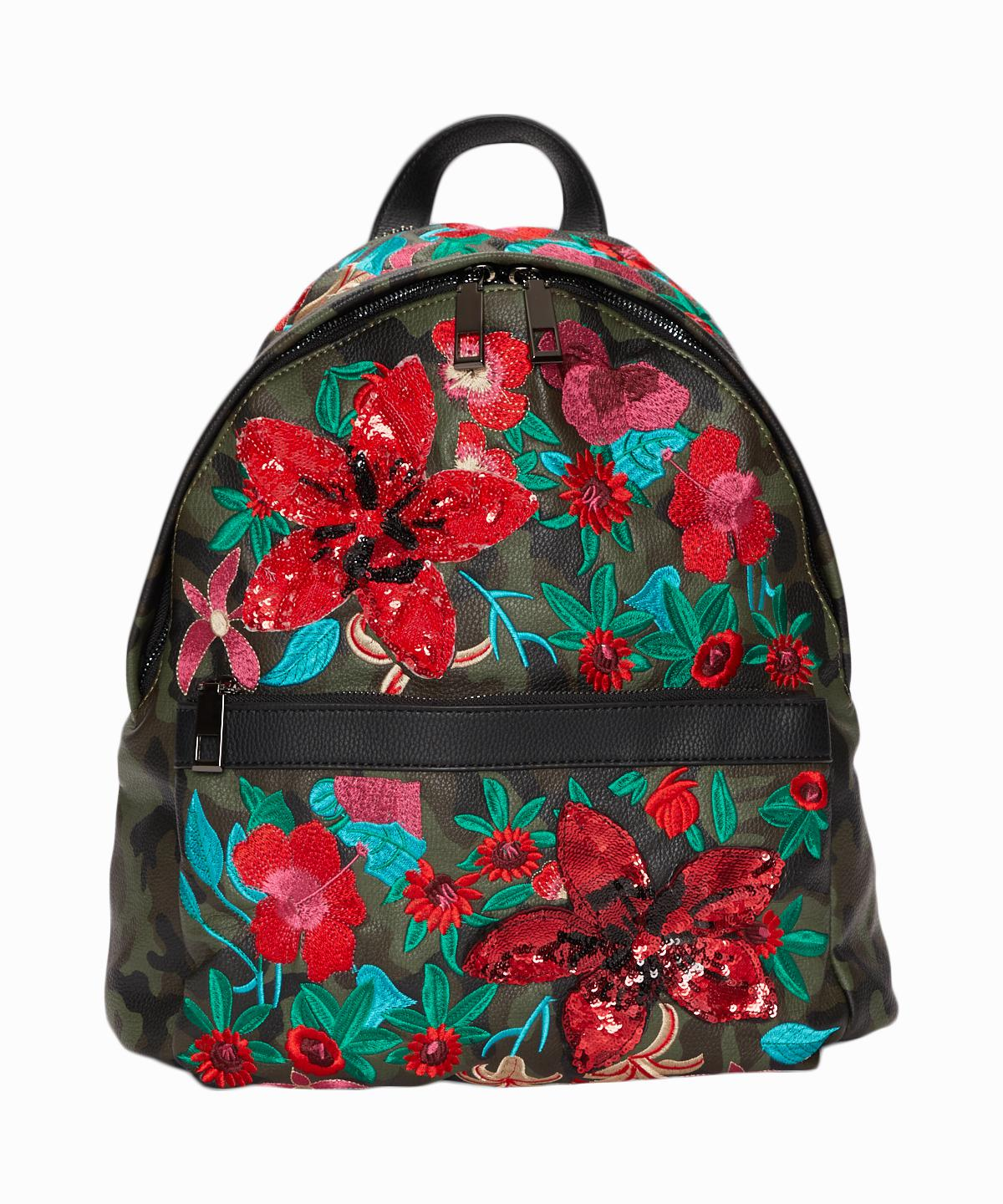 Camo With Flowers Backpack