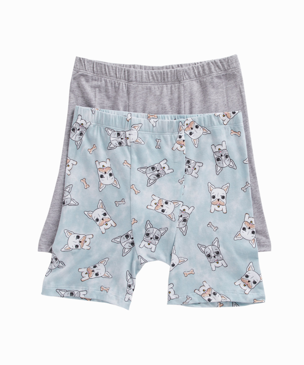 Bulldog Print Set of 2 Boxers
