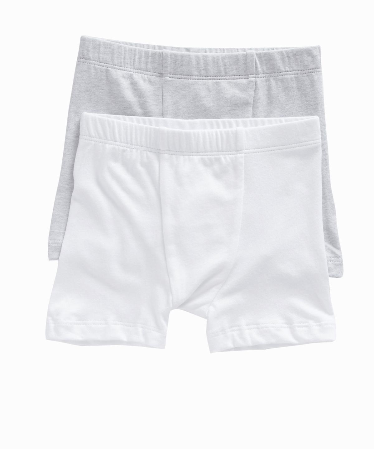 White/Grey Set of 2 Boxers