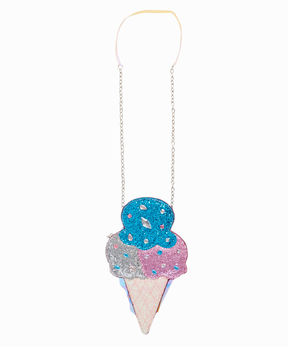 Ice Cream Glitter Bag