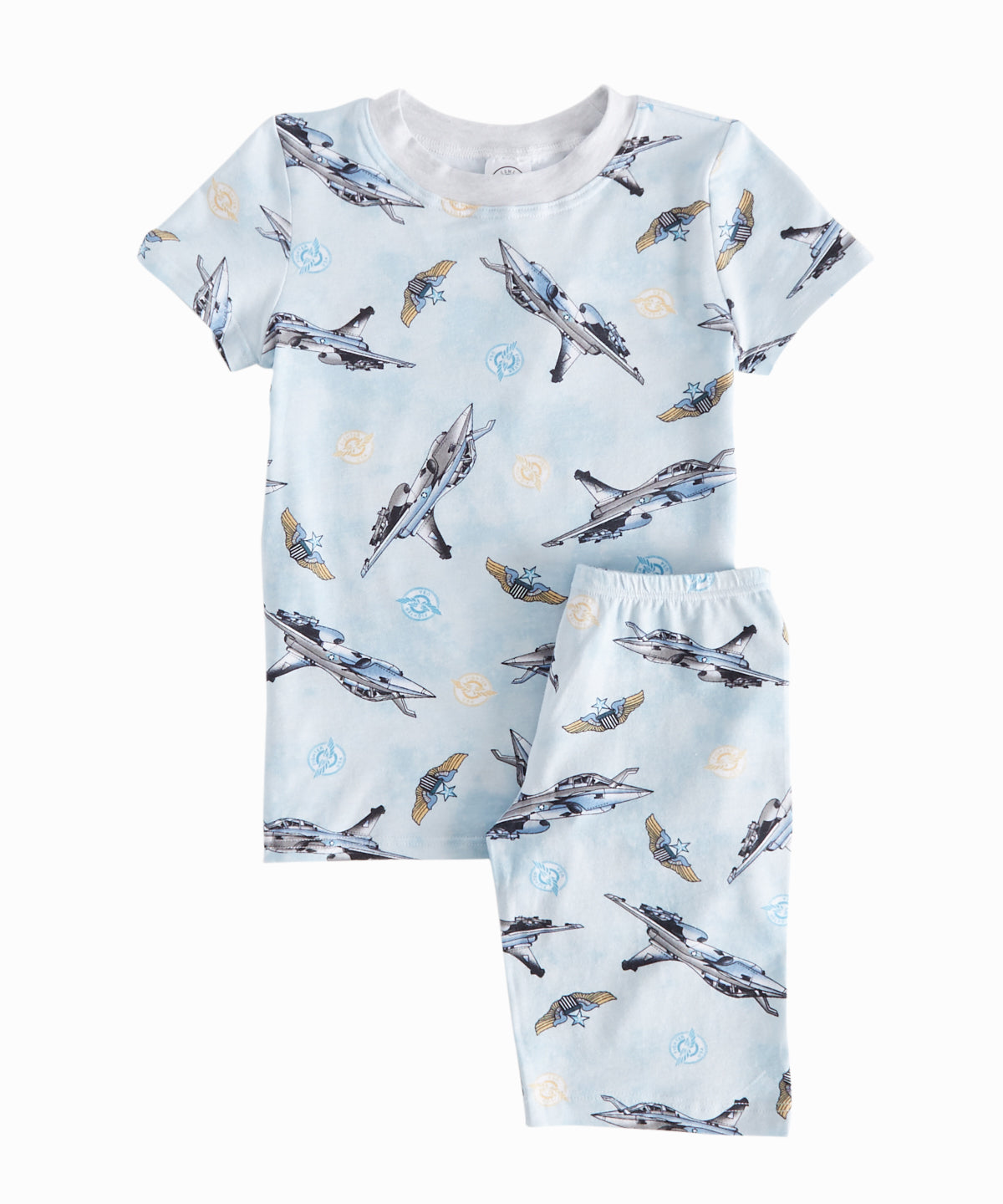 Fighter Jets Shorts PJ Set