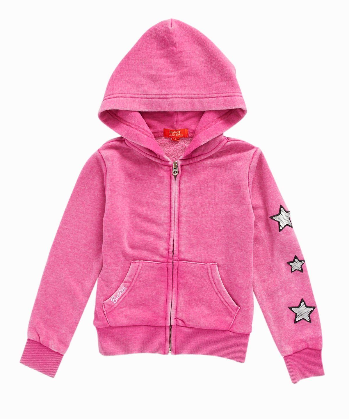 Crystal Unicorn Zip-Up Hooded Sweatshirt