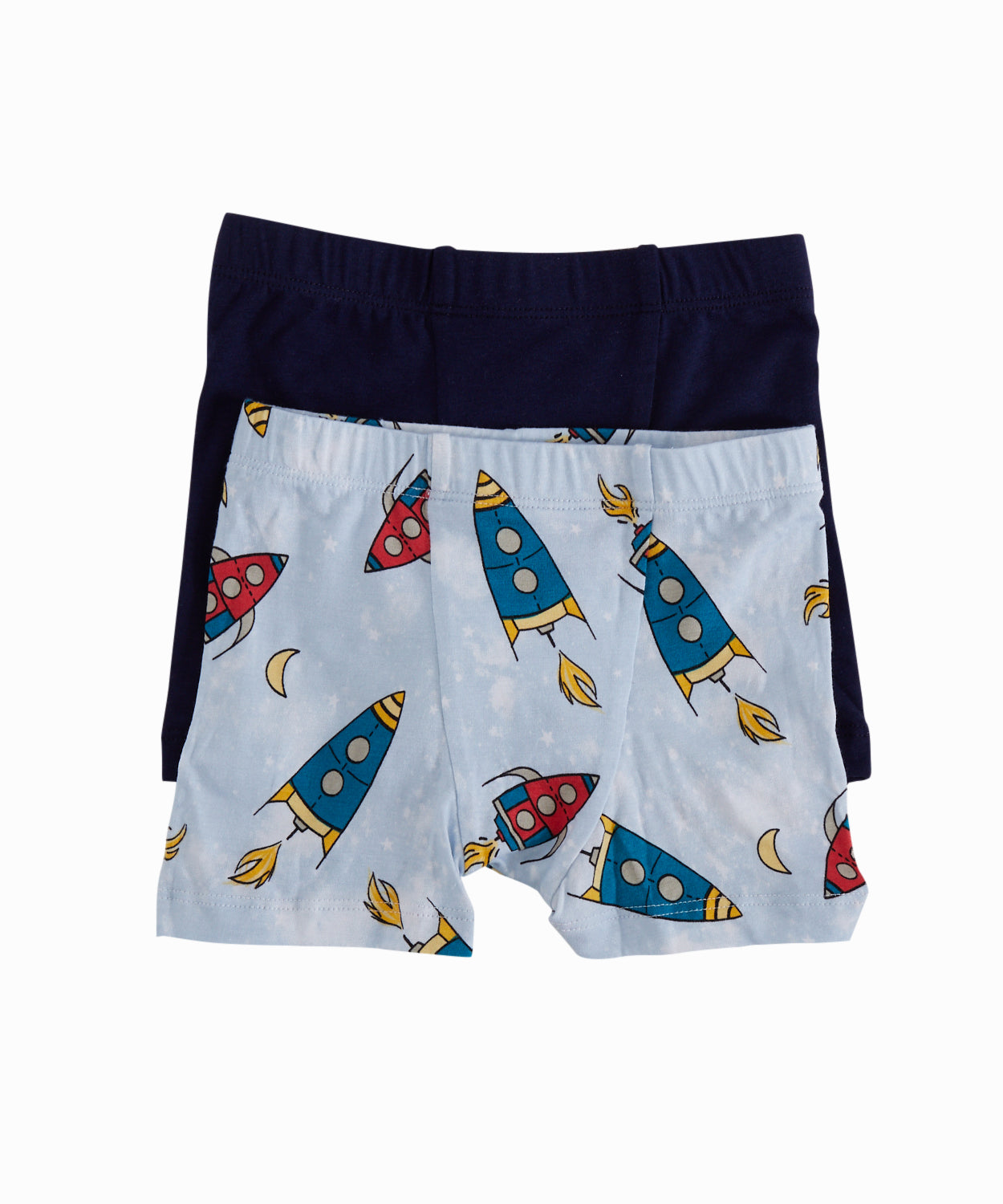 Rockets Print Set of 2 Boxers