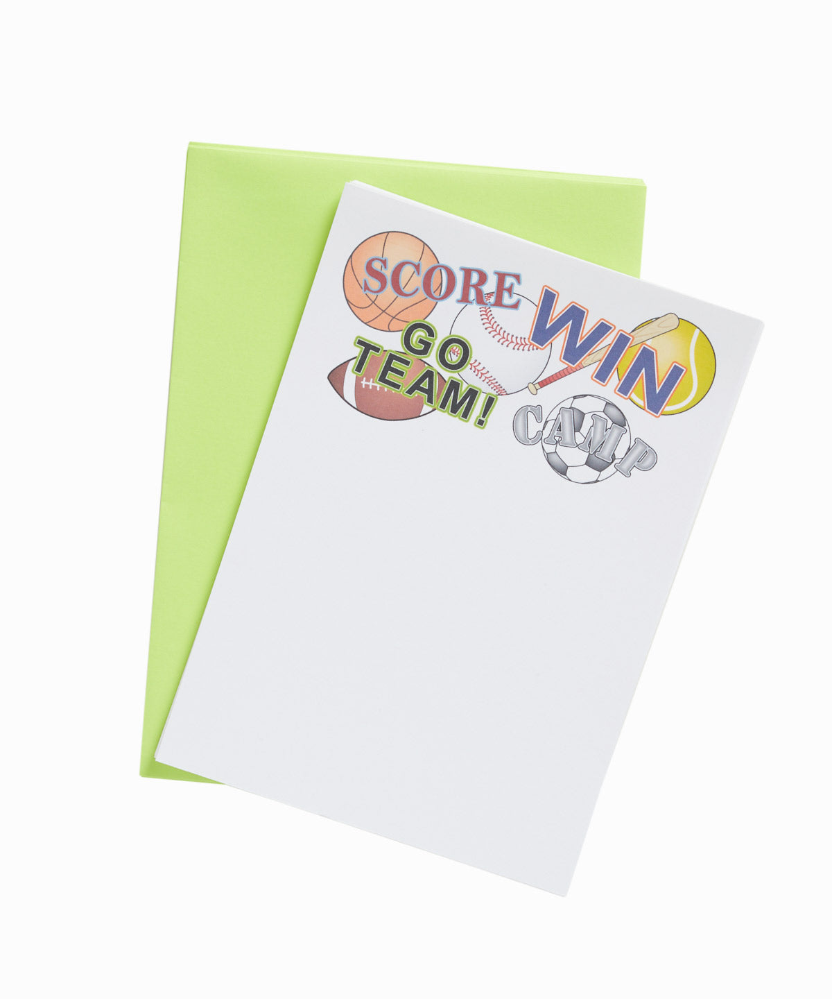 Go Sports Team Stationery