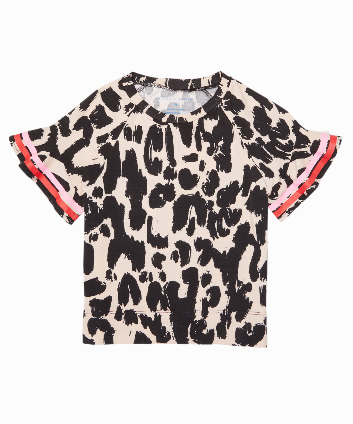 Leopard Banded Tee