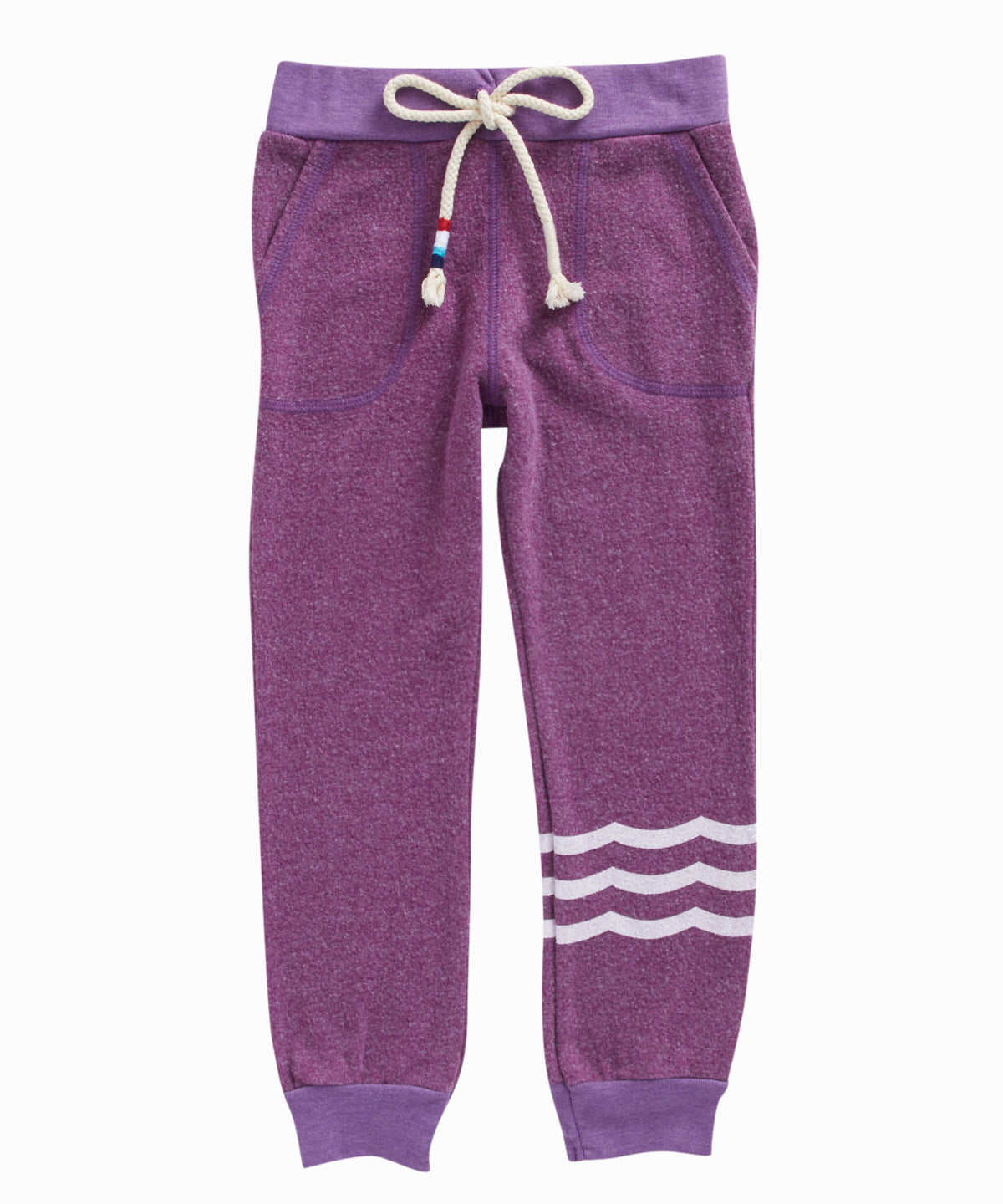 Hacci Waves Purple Sweatpants