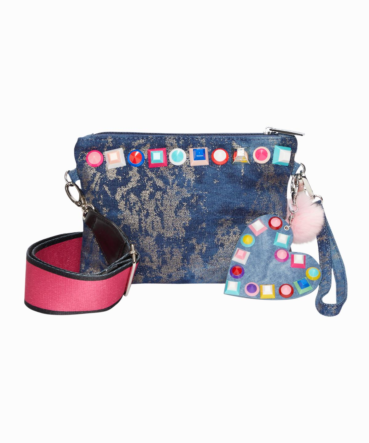 Exclusive Studded Denim Bag