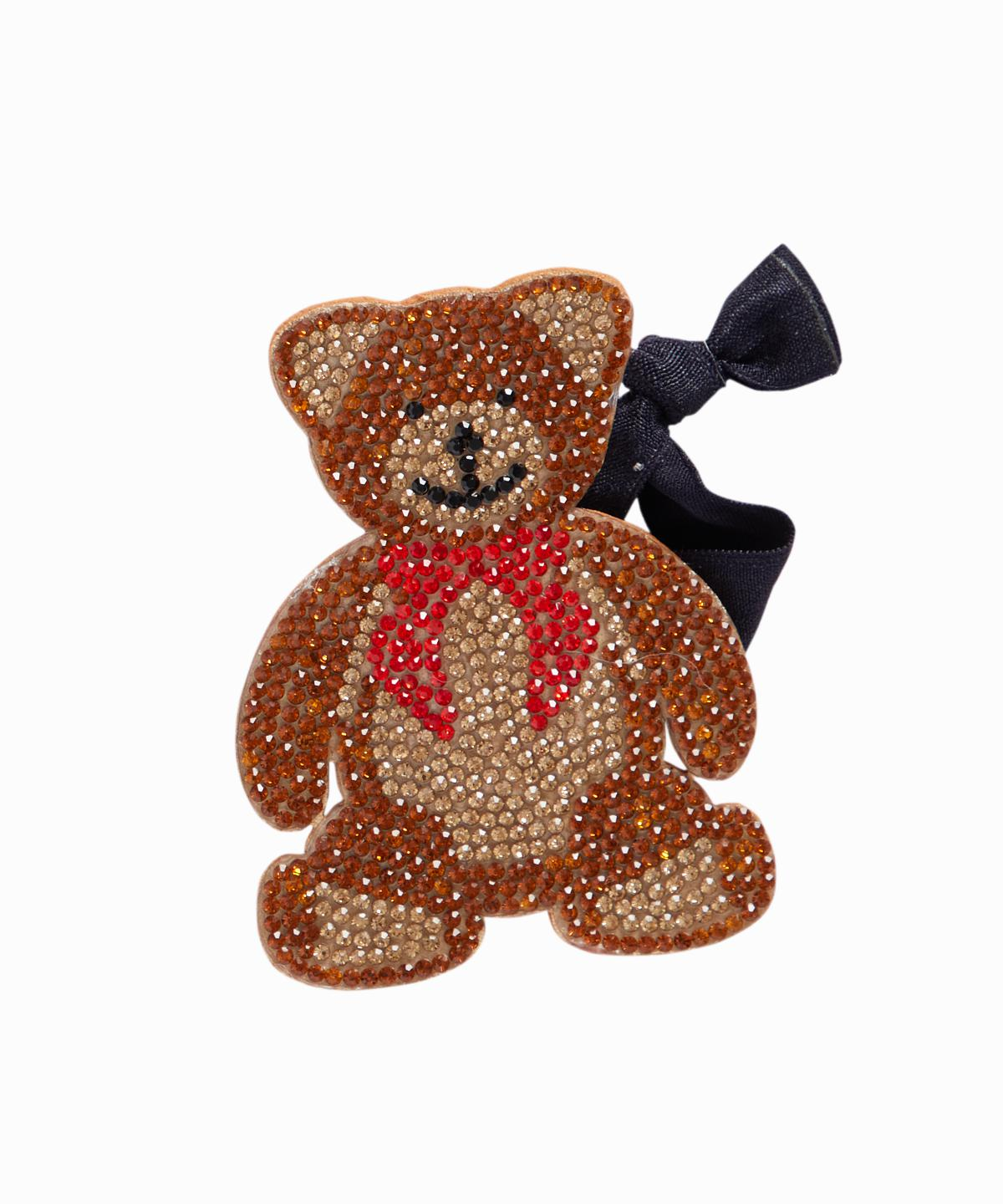 Exclusive Crystal Bear Ponytail Holder