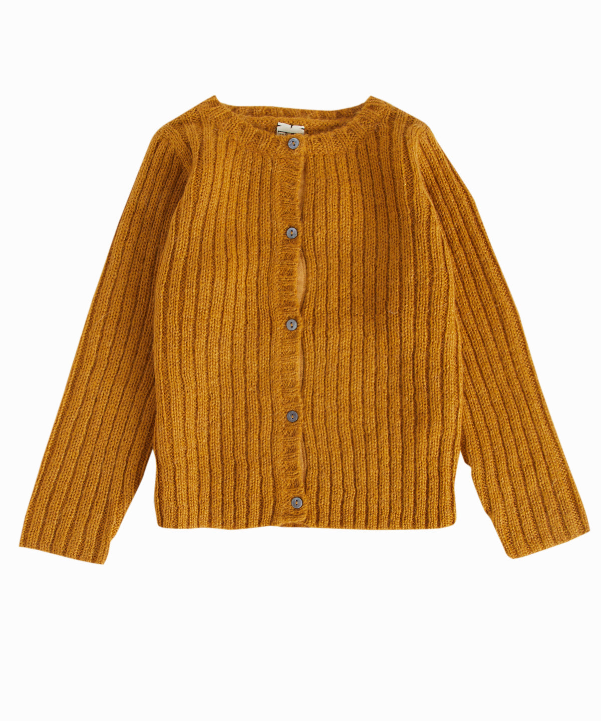 Saffron Cable-Knit Cardigan