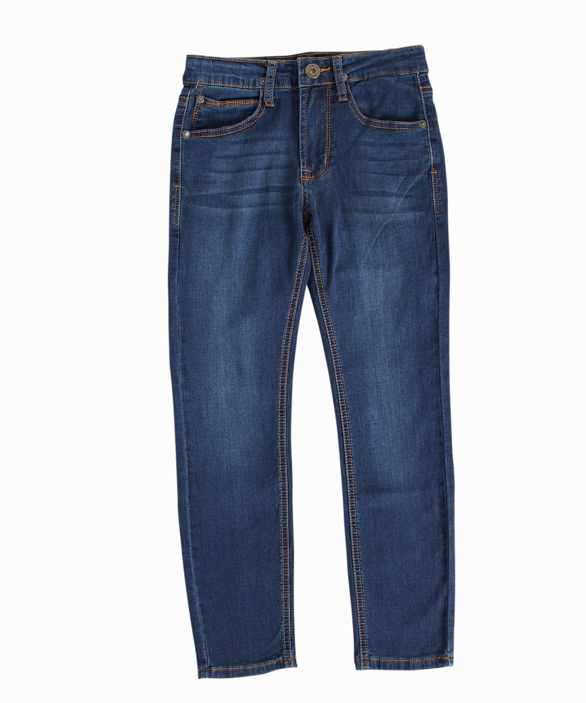 Jagger French Terry Slim-Straight Jeans