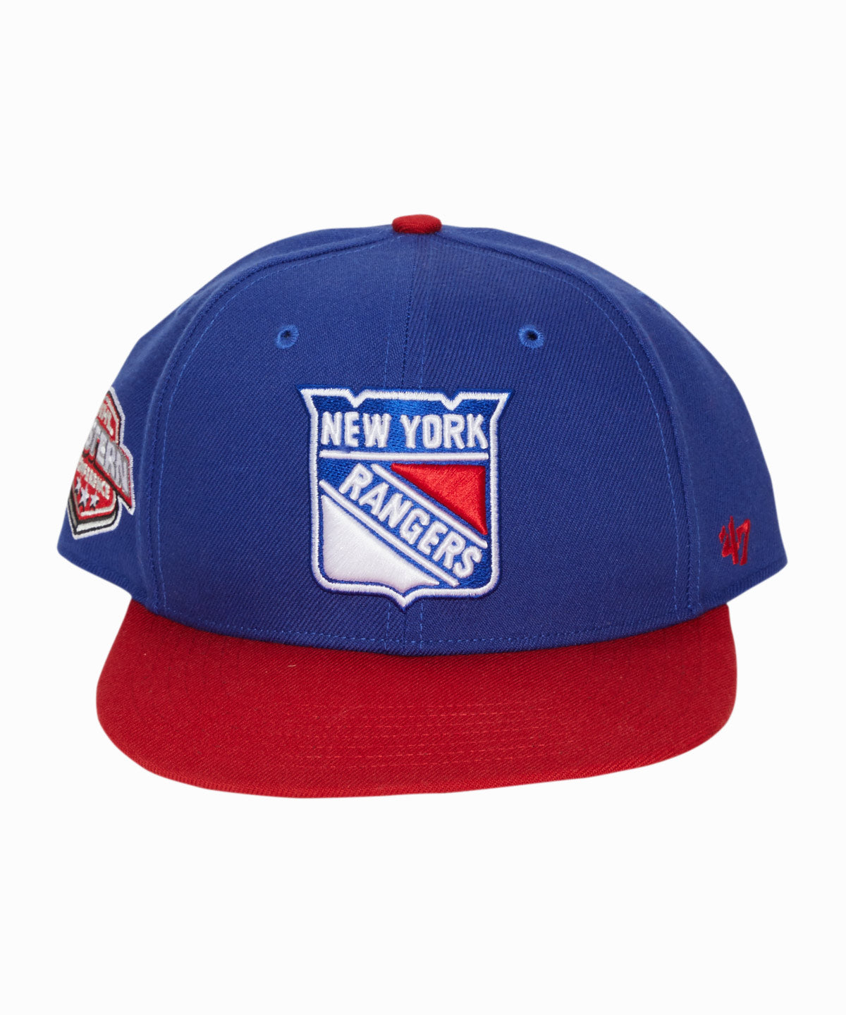 NY Rangers Sure Shot Snapback Hat
