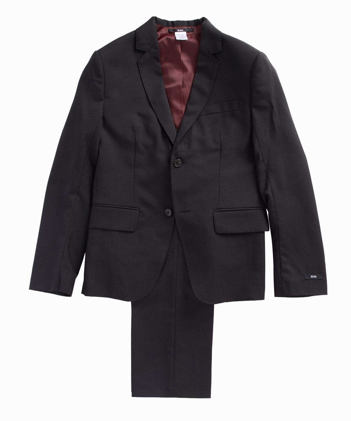 Black Two-Piece Suit Set
