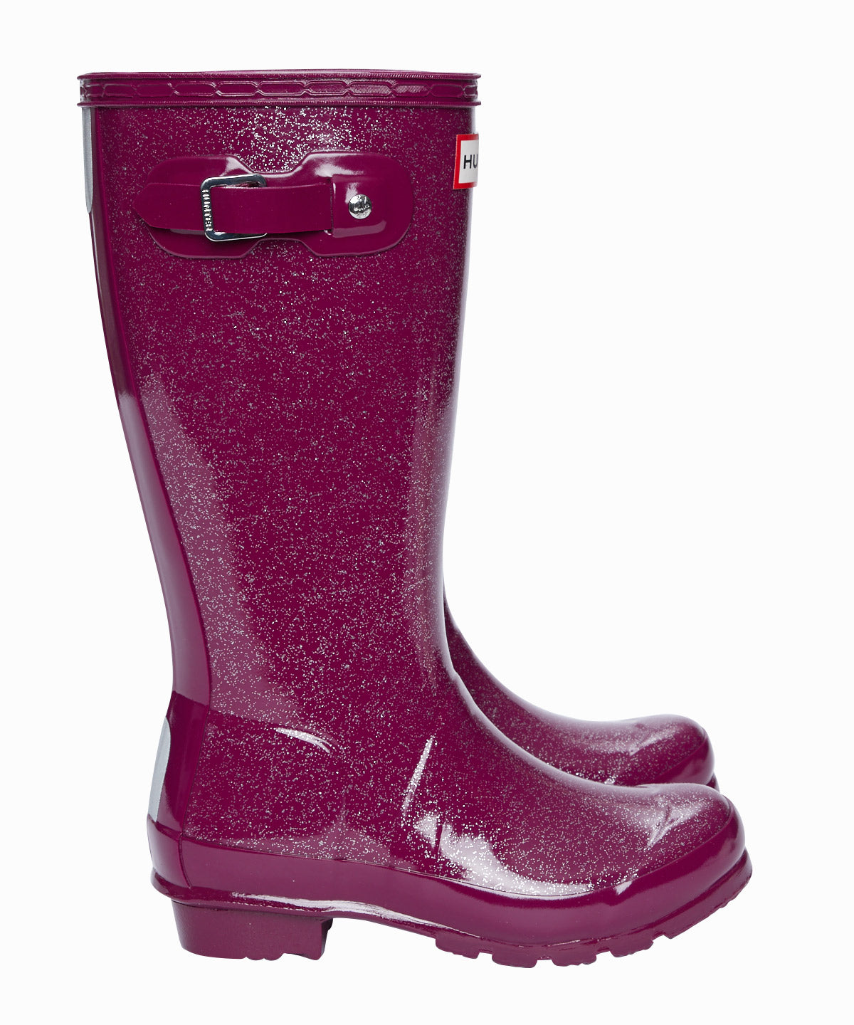 Original Kid Purple Glitter Rainboots